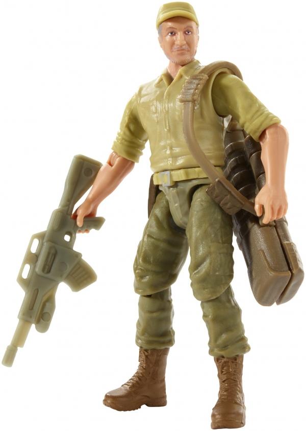 Jurassic World: figurka bohatera - Ken Wheatley z bronią