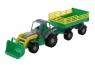 Osiłek traktor z przyczepą Nr 2 i łyżką