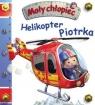 Mały chłopiec. Helikopter Piotrka w.2020