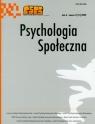 Psychologia społeczna  3/2009 Tom 4