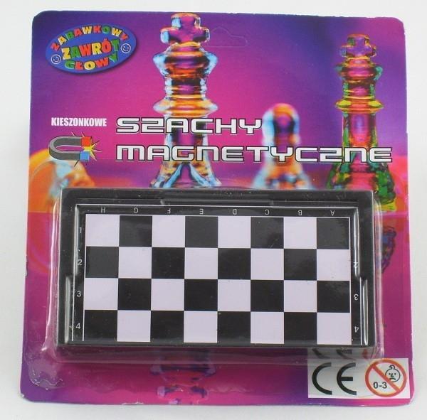DROMADER Gra szachy magnetyczne blister
