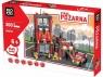 Klocki Blocki: Straż pożarna Remiza mała 300 elementów (KB8052)