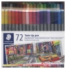 Flamastry dwustronne Twin-tip 72 kolory