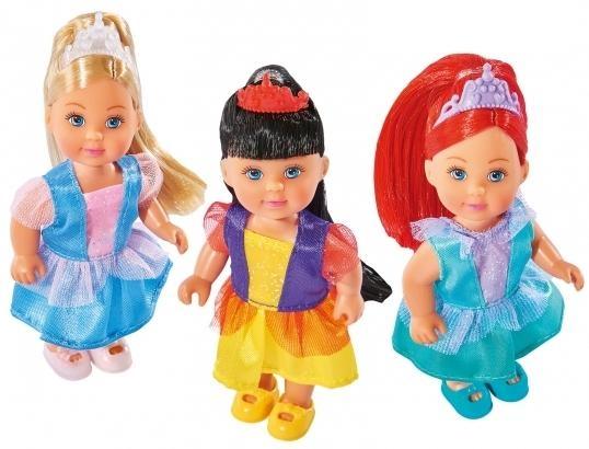 Evi Bajkowa księżniczka, różne rodzaje