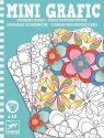 Mini Grafika Kolorowanie kwiatów (DJ05380)