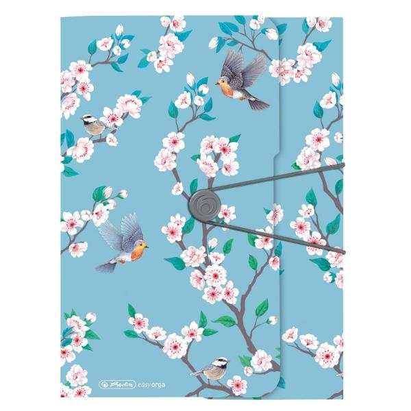 Teczka z gumką A4 - Ladylike Birds