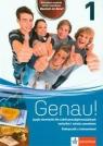 Genau! 1 Podręcznik z ćwiczeniami z płytą CDSzkoła ponadgimnazjalna Tkadkeckova Carla, Tlusty Petr, Machowiak Danuta E.