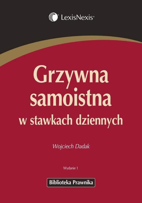 Grzywna samoistna w stawkach dziennych Dadak Wojciech