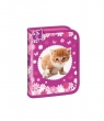 Piórnik dwuklapkowy Cat