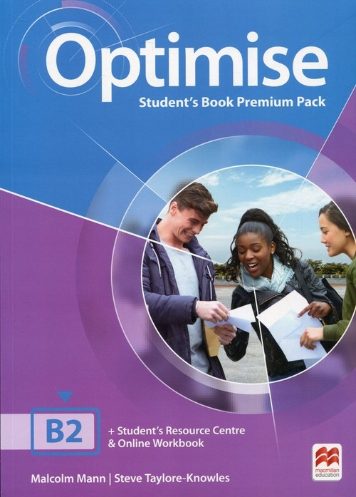 Optimise B2 Student's Book Premium Pack Mann Malcolm, Taylore-Knowles Steve