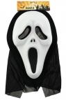 Maska Eva z kapturem krzyk
