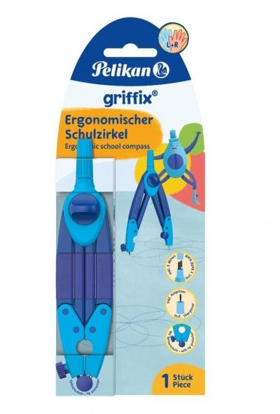 Cyrkiel Griffix niebieski