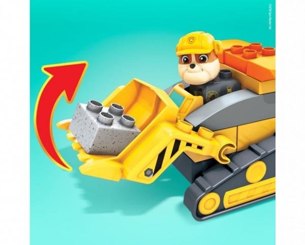 Mega Bloks: Psi Patrol - Spycharko-betoniarka Rubble'a (GYW91)