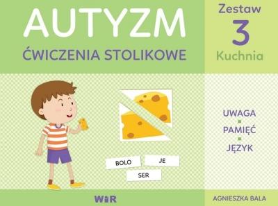 Autyzm ćwiczenia stolikowe. Zestaw kuchnia Agnieszka Bala