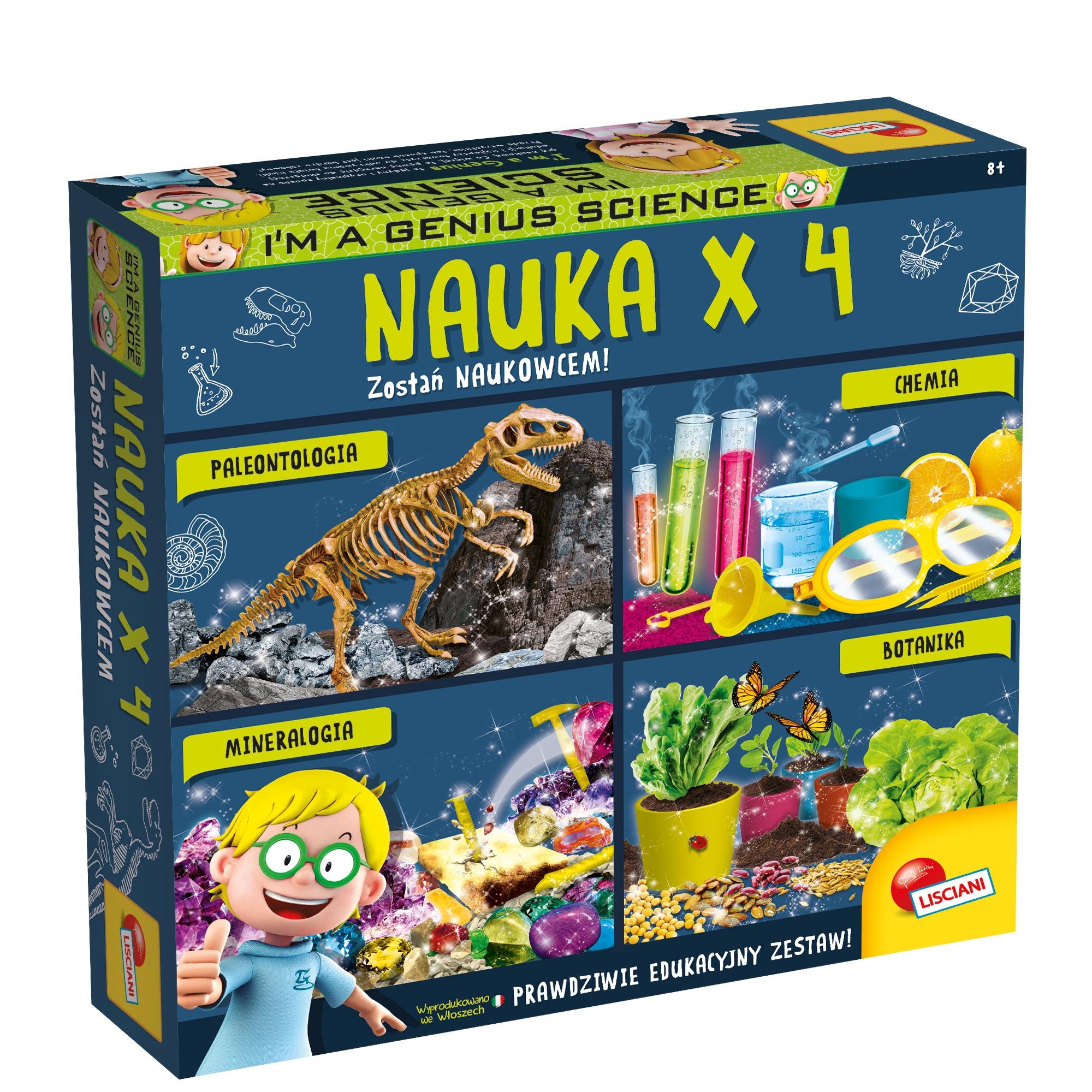 I'm a genius, Nauka x4 (304-PL80472)
