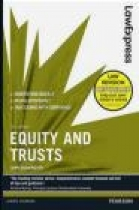 Law Express: Equity and Trusts John Duddington