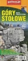 Mapa turystyczna - Góry Stołowe 1:30 000