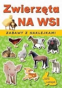 Zwierzęta na wsi Zabawy z naklejkami