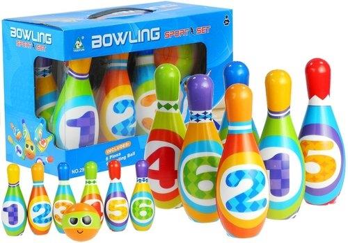 Kręgle z Cyferkami  Bowling Dla Malucha Pianko