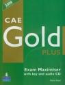CAE Gold Plus Exam Maximiser with key z płytą CD Boyd Elaine