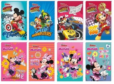 Notes A7/30k z poddrukiem Minnie & Mickey mix (607681)