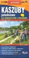 Mapa dla rowerzystów i piechurów - Kaszuby poł. praca zbiorowa