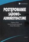 Postępowanie sądowo - administracyjne