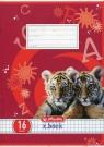 Zeszyt A5 x.book w kratkę 16 kartek