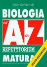 Biologia od A do Z Repetytorium Matura Poziom rozszerzony Golinowski Piotr