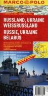 Rosja Ukraina Białoruś Mapa drogowa 1:300 000 Marco Polo