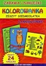 Kolorowanka Zeszyt siedmiolatka Łamigłówki