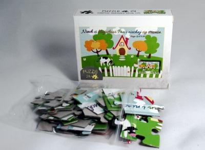 Puzzle Domek/Niech Ci Pan Błogosławi