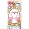 Karnet Ślub B6 - Flamingi DL