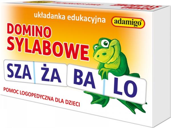 Domino sylabowe Logo - pomoc szkolna (4812)