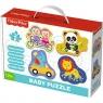 Puzzle Fisher-Price Baby Classic Radosne zwierzątka (36081)