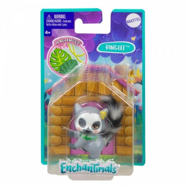 Figurka Enchantimals Zwierzaki-ulubieńcy Lemur (GJX24/GNY74)