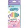 Kredki ołówkowe okrągłe Colorino Pastel, 10 kolorów (80813PTR)