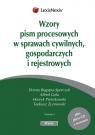 Wzory pism procesowych w sprawach cywilnych gospodarczych i rejestrowych + CD Bugajna-Sporczyk Dorota, Gola Alfred, Pietrzkowski Henryk
