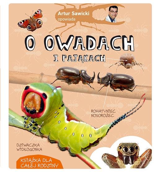 Artur Sawicki opowiada o owadach i pająkach Sawicki Artur