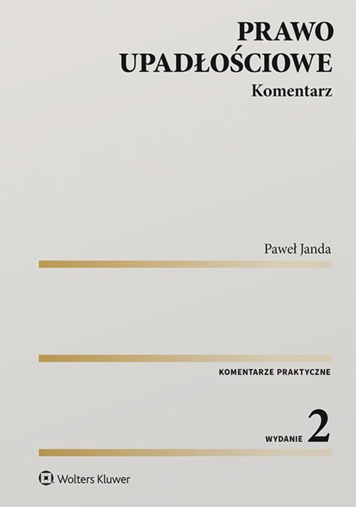 Prawo upadłościowe Janda Paweł