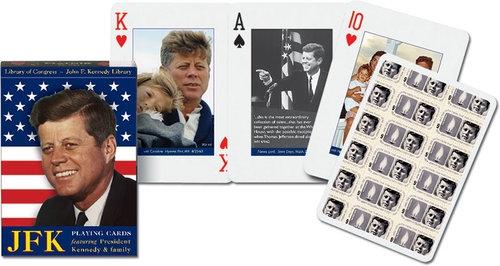 Karty do gry Piatnik 1 talia JFK (1158)