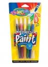 Farby w pędzlach 5 kolorów Colorino