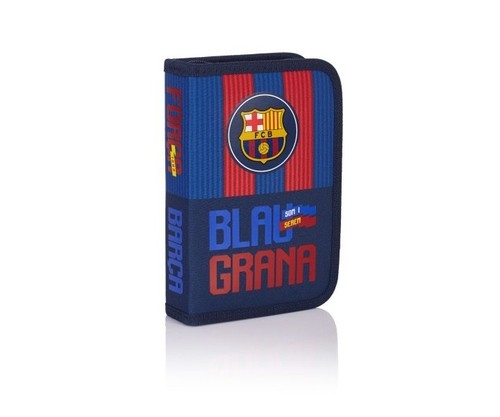 Piórnik pojedynczy bez wyposażenia FC 143 Barcelona