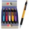 Długopis Yokis, wkład niebieski, mix kolorów obudowy, 0,7 mm (177053)