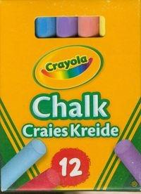 Kreda Crayola niepyląca kolorowa 12 szt (0281)