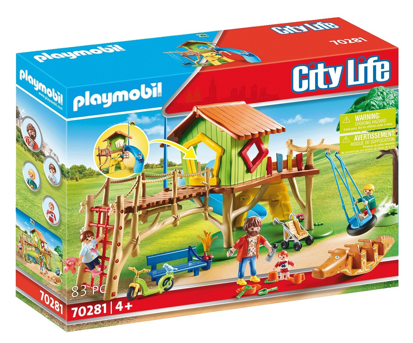 Playmobil City Life: Plac zabaw (70281)