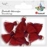 Zawieszki dekoracyjne, frędzle - czerwone (Bl19001)