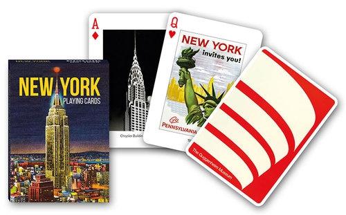 Karty poj. international New York