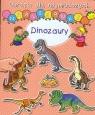 Dinozaury. Obrazki dla najmłodszych. Naklejanki