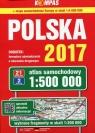 Polska 2017 Atlas samochodowy 1:500 000